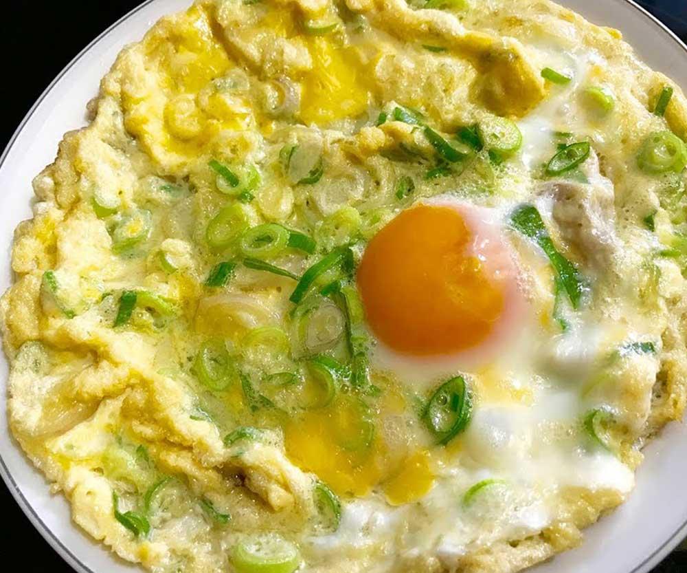 วิธีทำไข่เจียวดาว